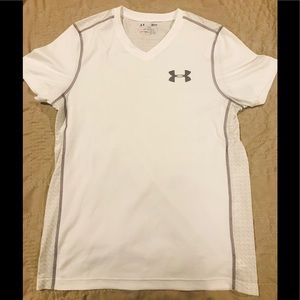 Under Armour v-neck t-shirt, Adult Small